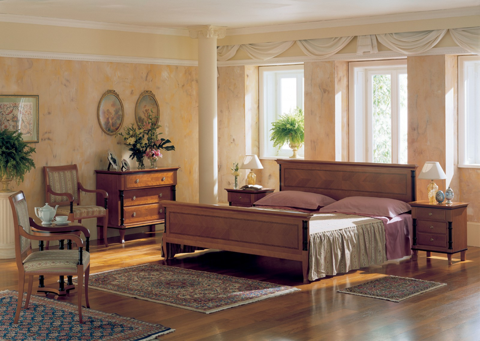 Biedermeier stilles for Bedroom designs middle class