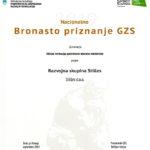 bronasto priznanje GZS