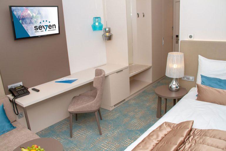 Hotel Seven Einzelzimmer 2