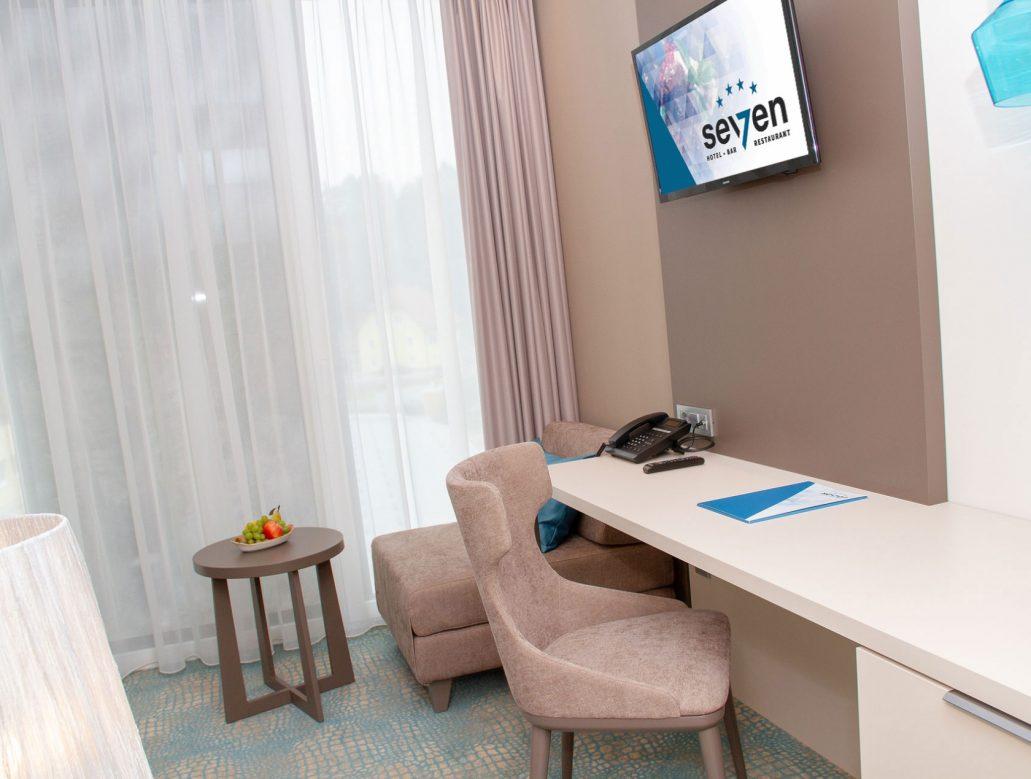 Hotel Seven Einzelzimmer 5