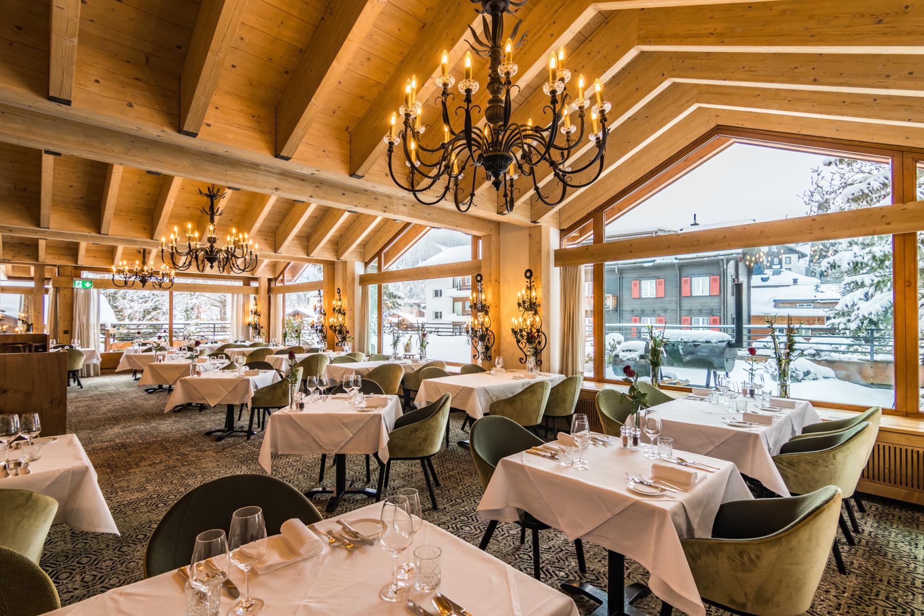Walliserhof Caesar Ritz Restaurant 4